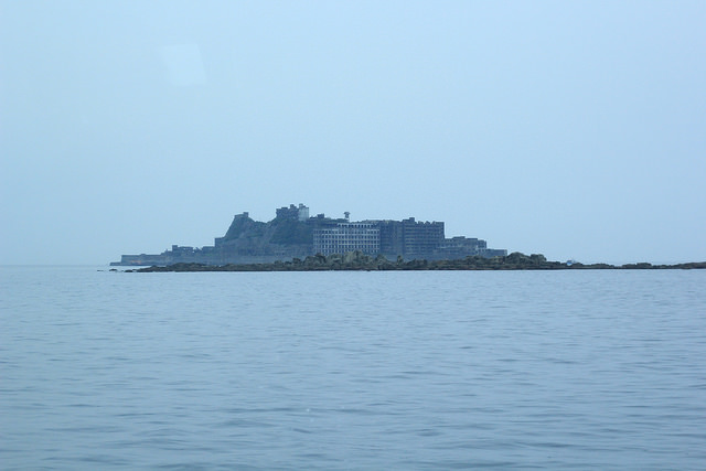 View of Hashima Island