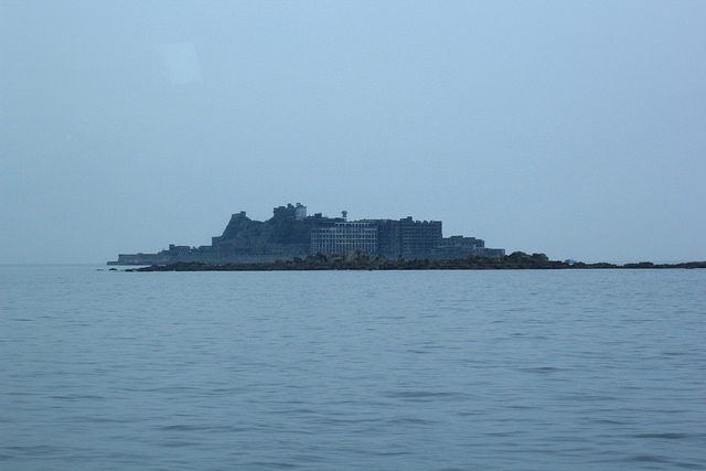 Hashima panoramic view