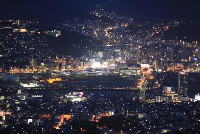 Inasayama Night Viewn in Nagasaki