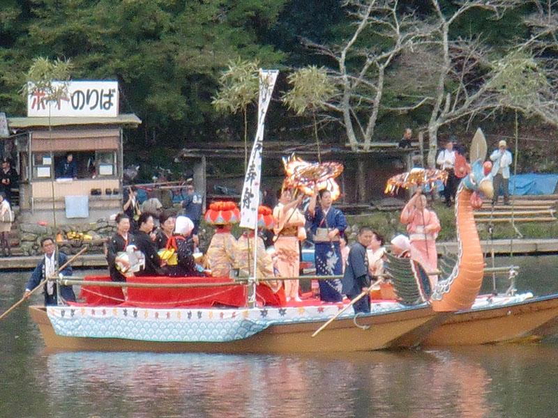 Kyoto Arashiyama Mifune Matsuri