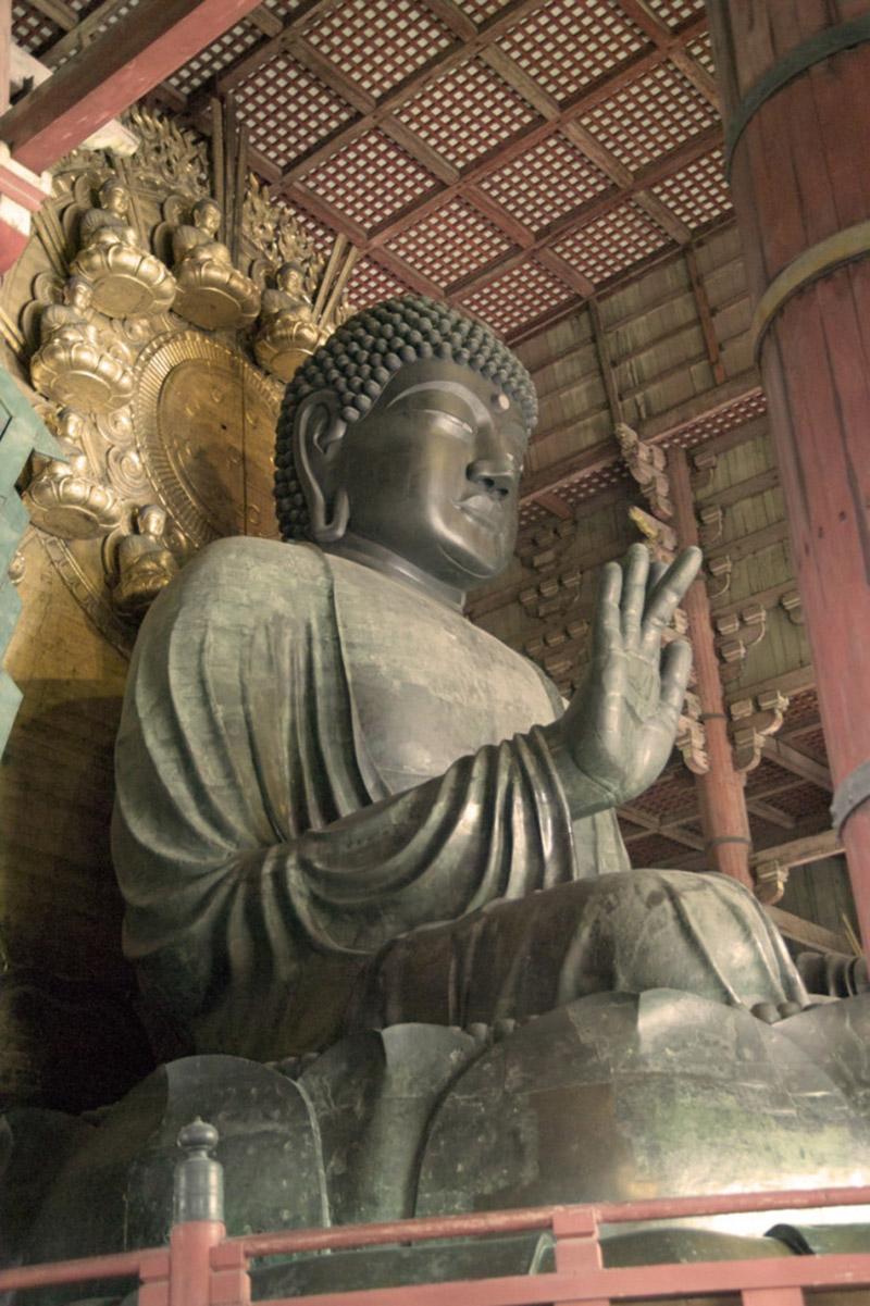 Daibutsu(Buddha) in Nara Todaiji