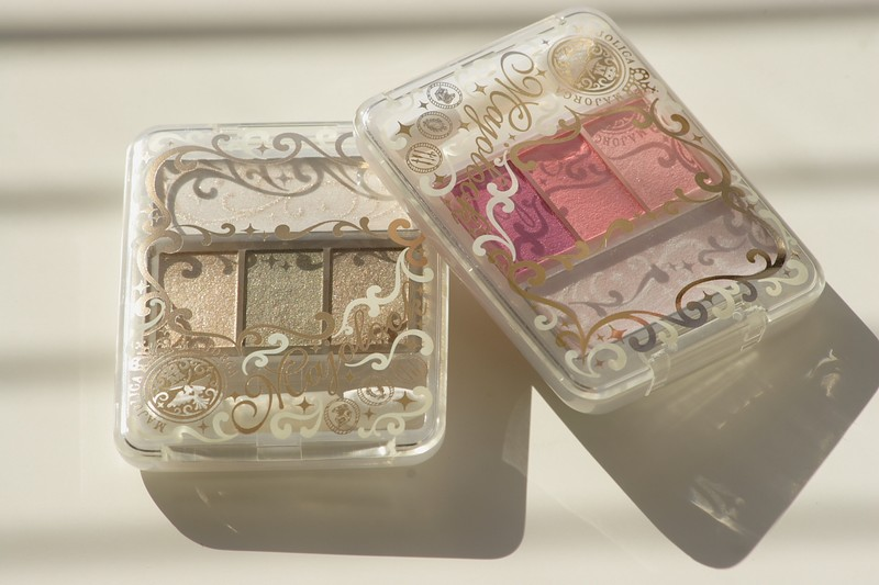 "Japanese eyeshadows from ""Majolica Majorca"" Shiseido"