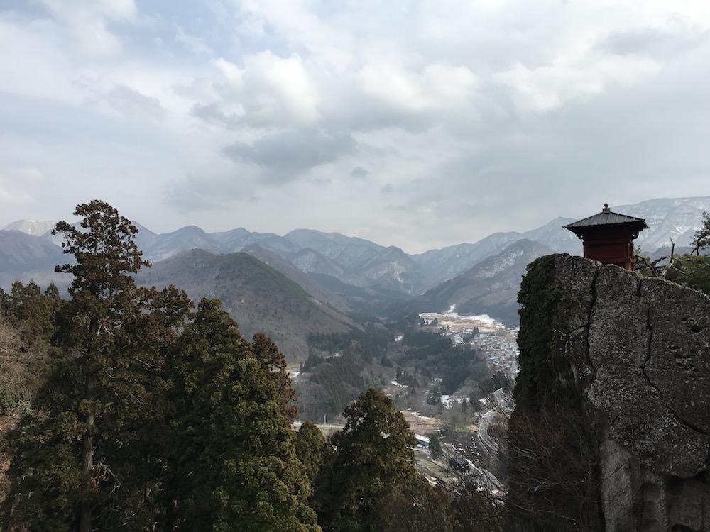 "Risshaku-ji also known as ""Yamadera"" in Yamagata prefecture"