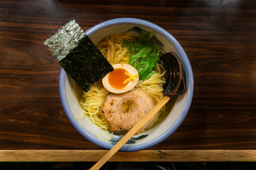 Yuzu Shio Ramen At AFURI.