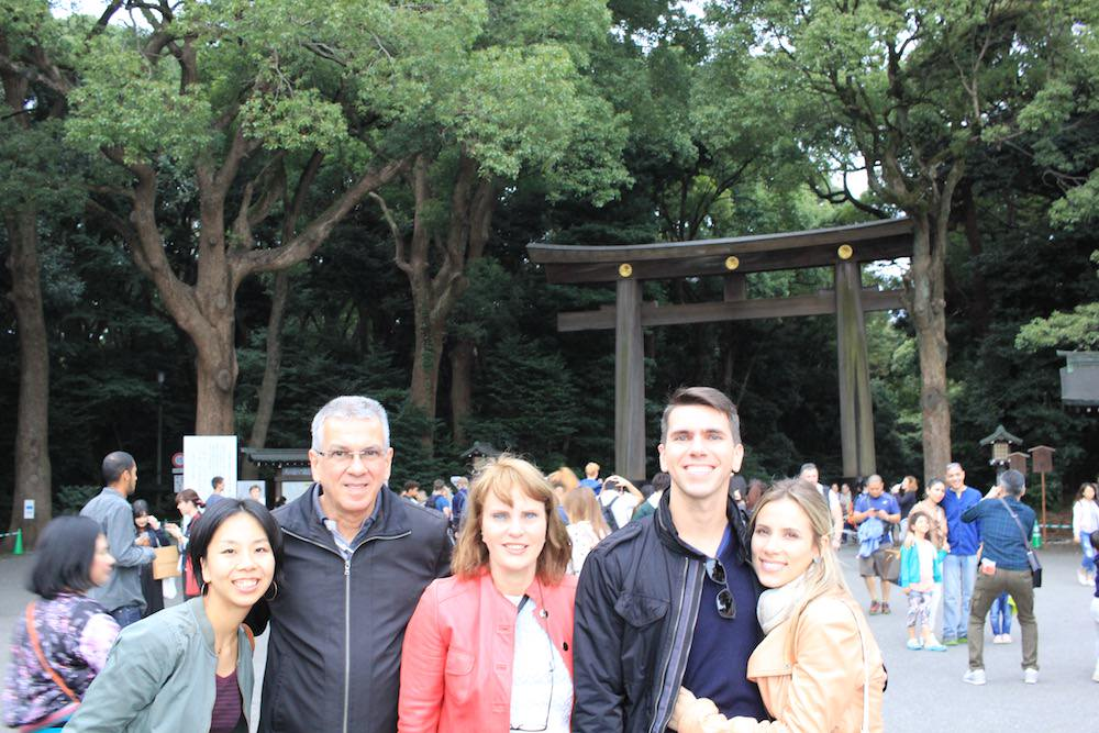 Huge Torii and plenty of nature in Meiji Shrine
