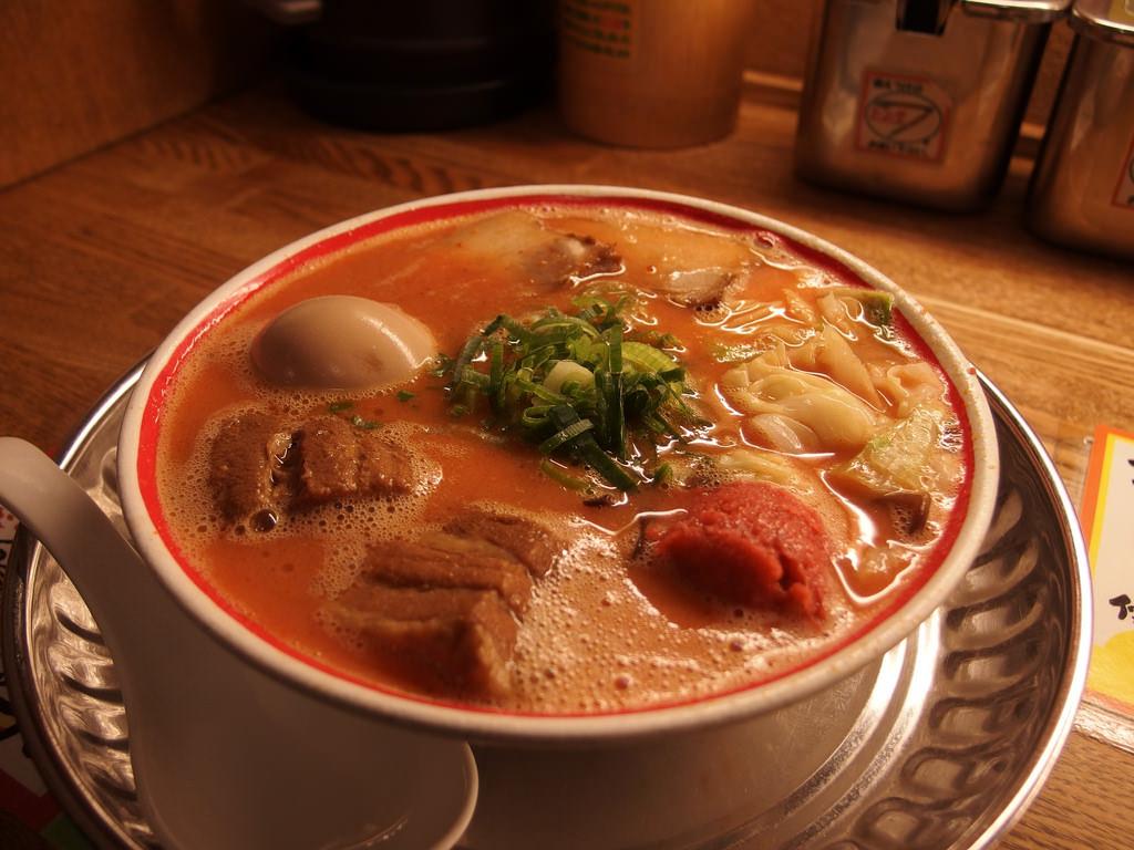 Spicy Tonkotsu Ramen from Kyushu Jangara Ramen.