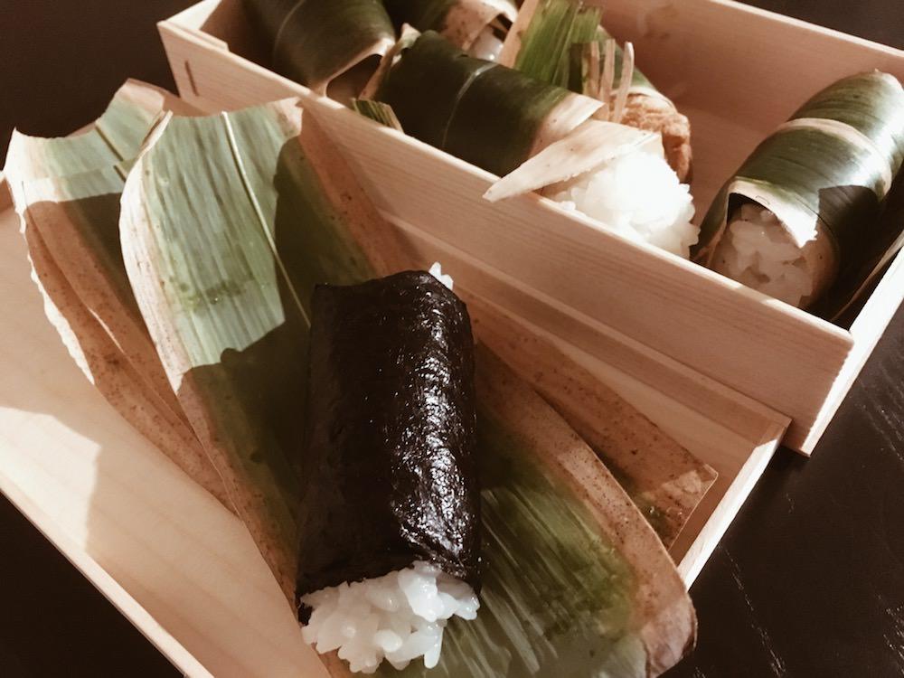 Sasamaki Kenuki Sushi - Kanpyo Maki
