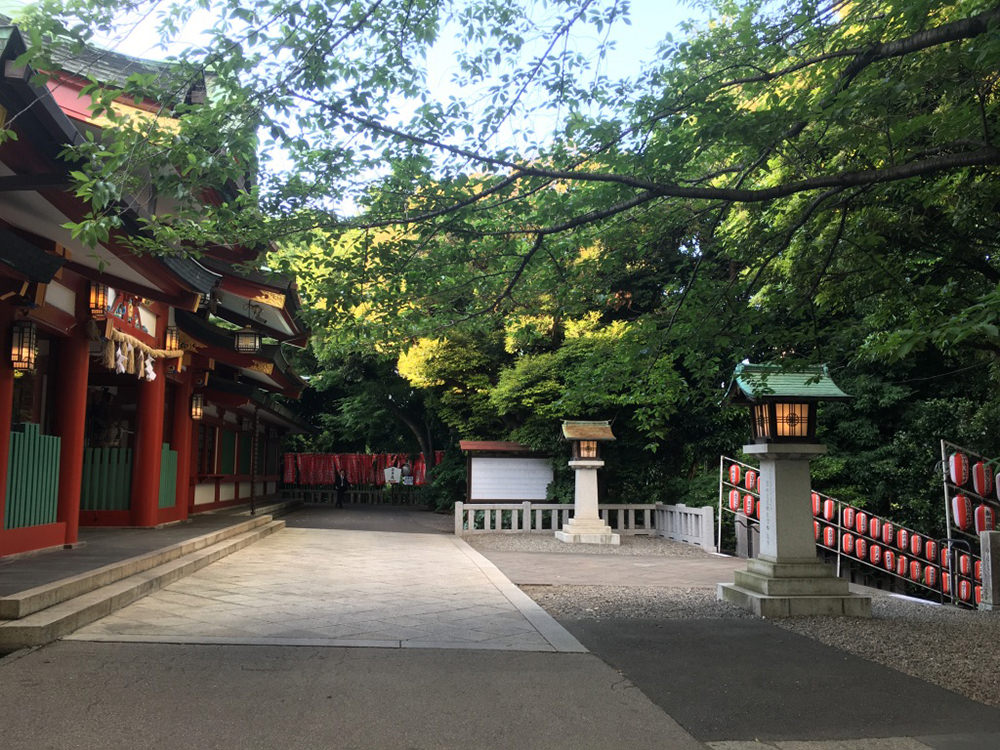 Quiet Hie Shrine