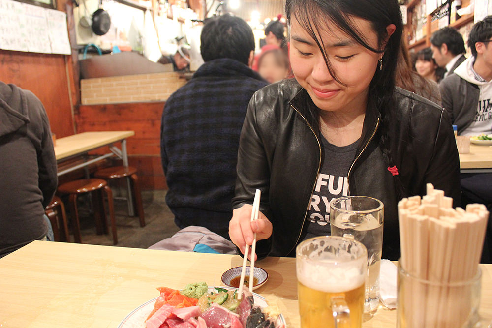 The place is very authentic… noisy and packed with locals, and the food is great!