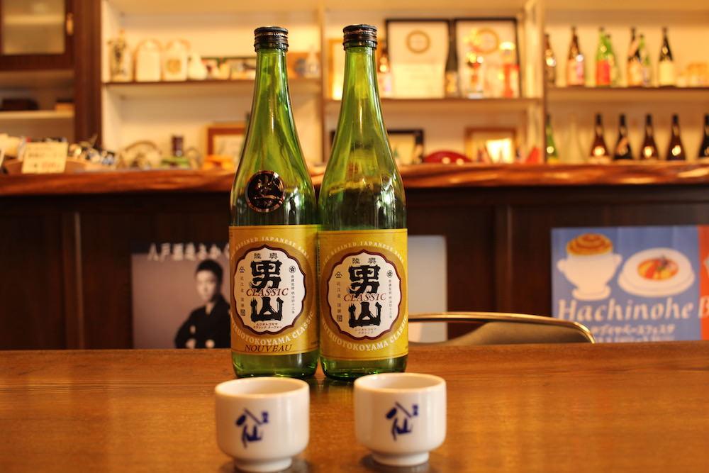 Hachinohe Shuzo Sake Brewery's signature product Mutsu Otokoyama.