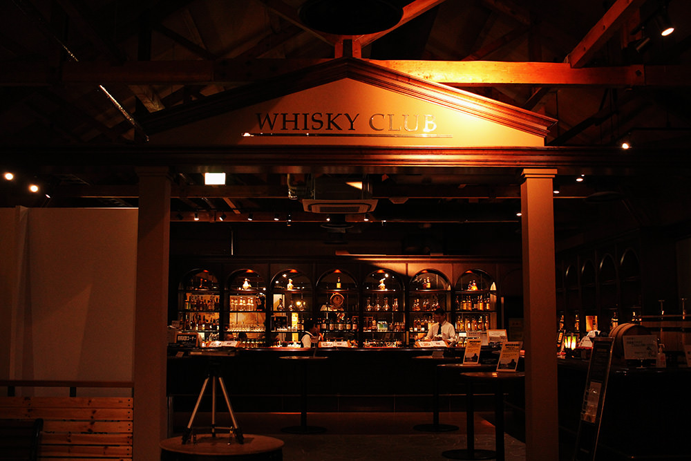 The entrance of Whisky Club, quite an atmosphere, right?