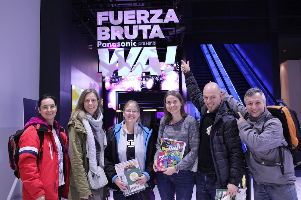 Audiences of FUERZA BRUTA from abroad!