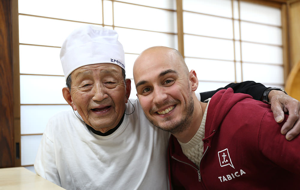 """Mr. Ito and the interpreter called TOMO. TOMO in Japanese means """"friends"""" and """"together""""!"""