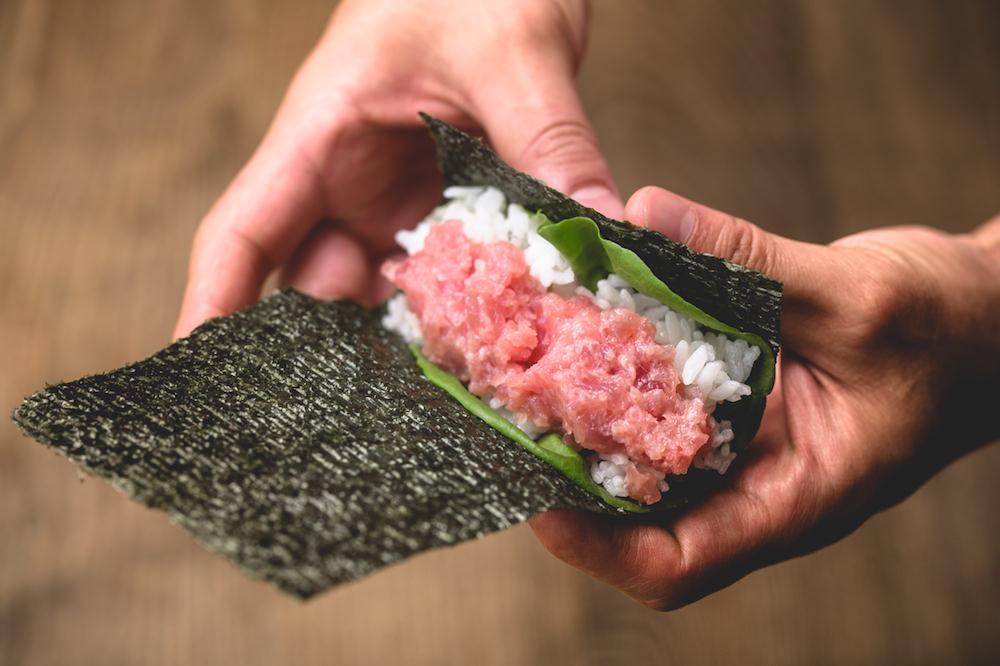 Gonpachi NORI-TEMAKI's tuna sushi