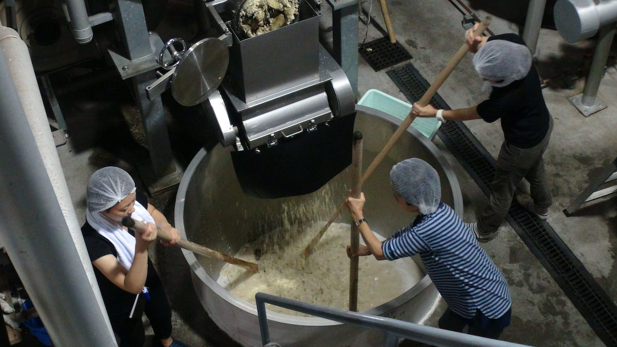 Nakamata Shuzo's Shochu making process