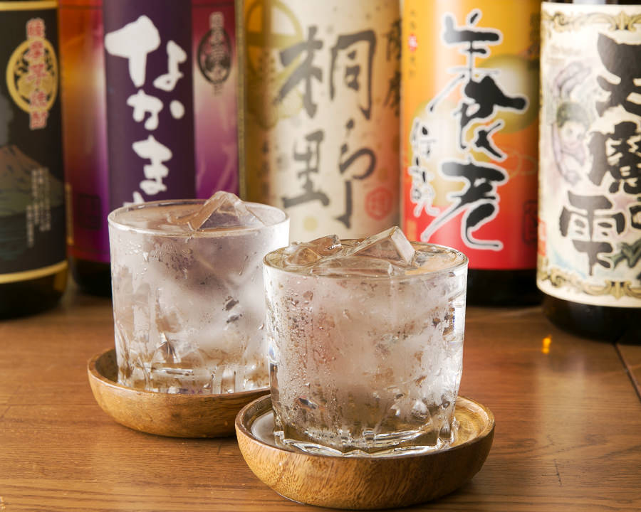 Nakamata Shuzo's shochu on the rock