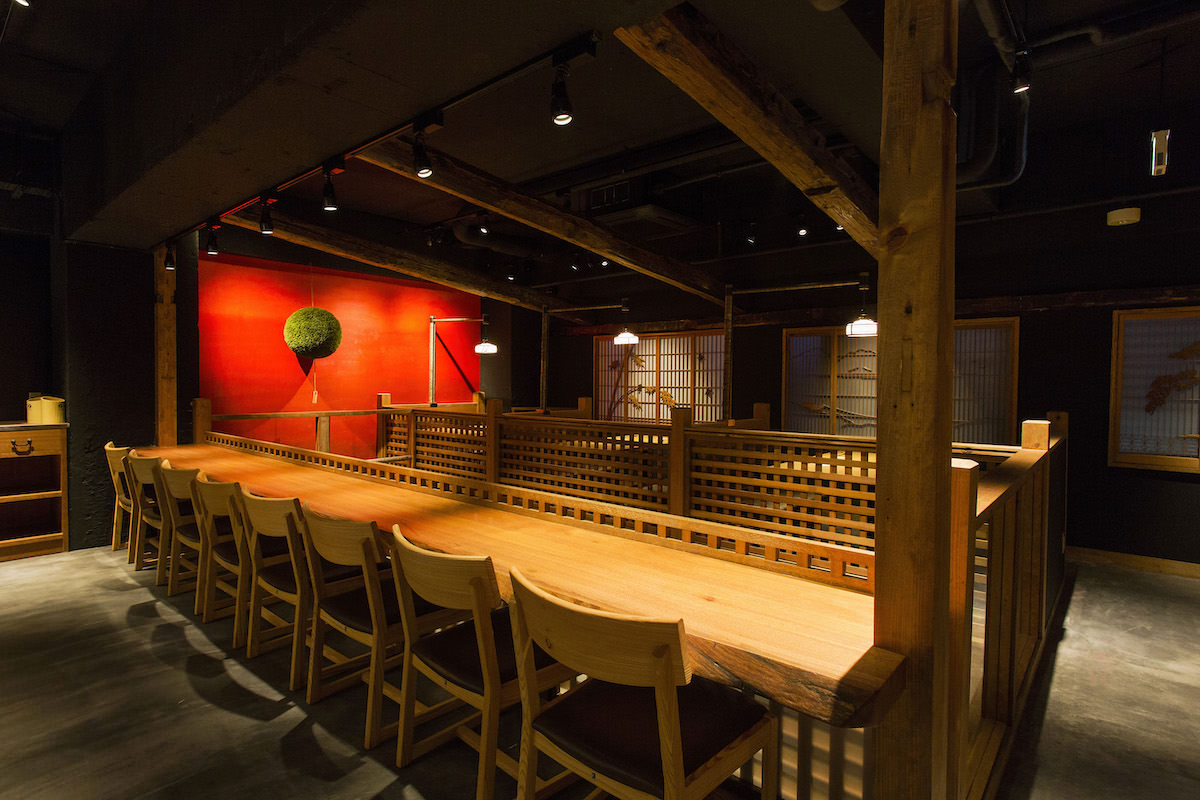 Example of interior of Nakamata Shuzo