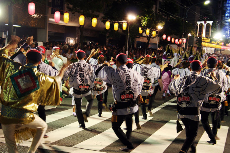 Various festivals are around every week in Tokyo.