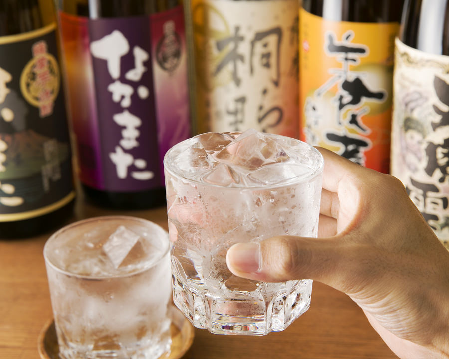 Nakamata Shuzo offers high-quality shochu at their restaurant/bar