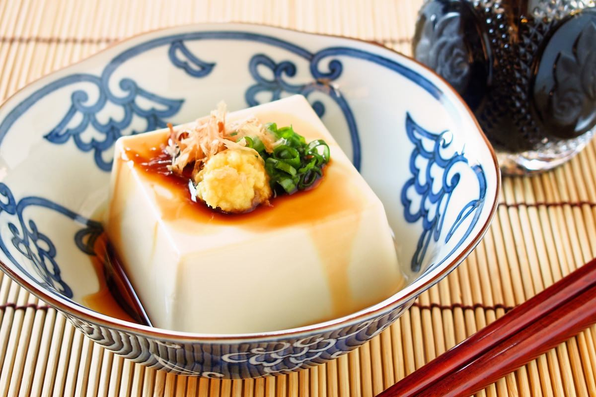 Hiyayako, cold tofu