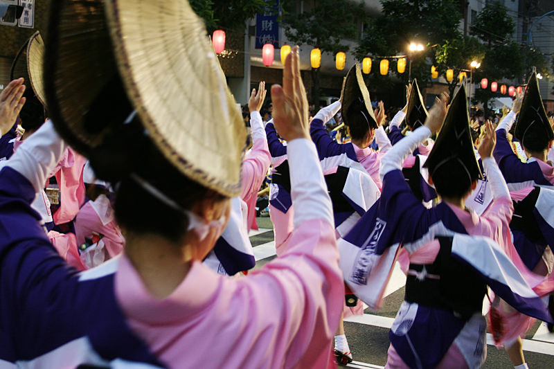 Koenji Awaodori Festival is one of the most popular festivals in Tokyo