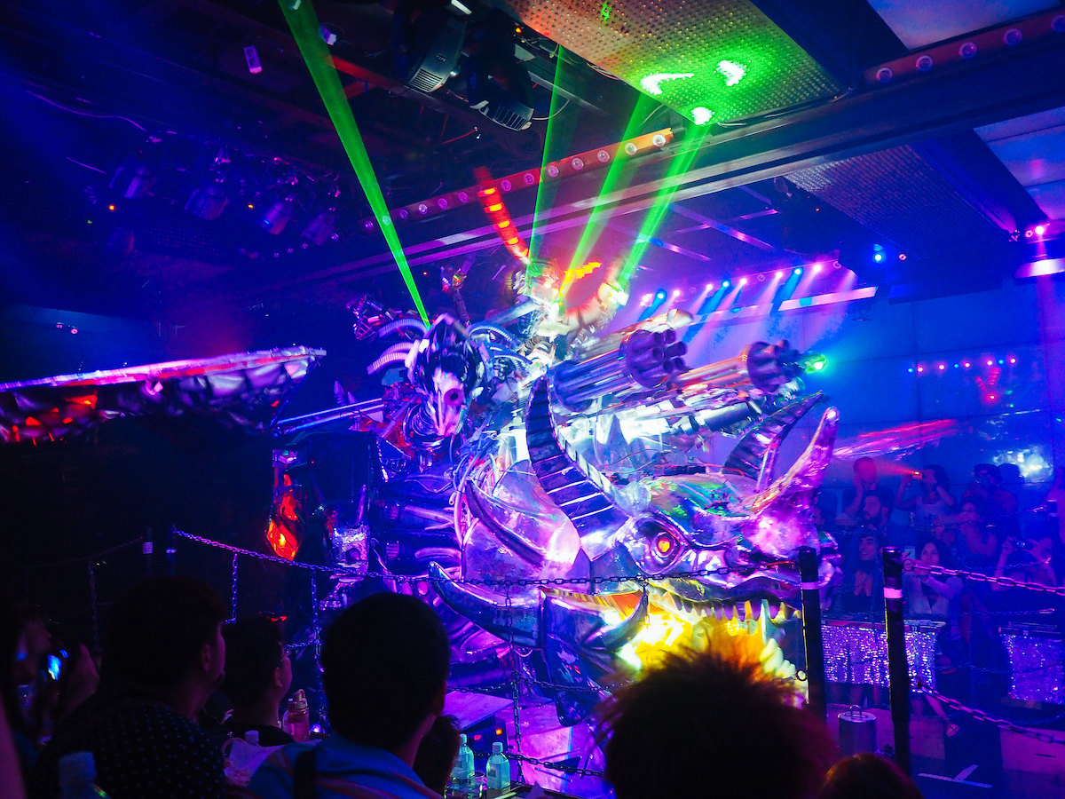 Robot Restaurant is a show in Shinjuku