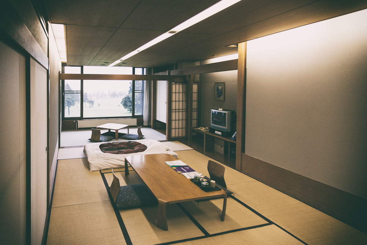 Staying at a ryokan is very relaxing