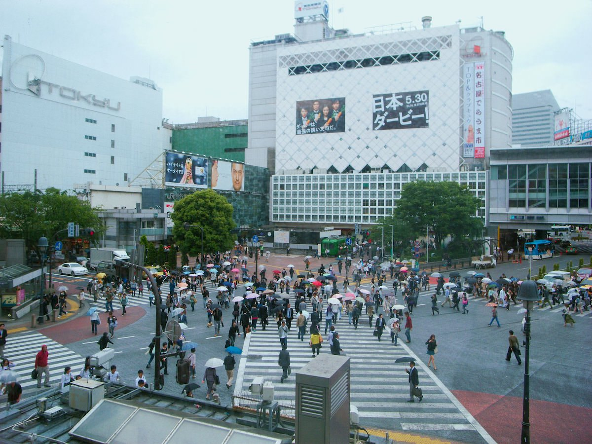 Shibuya Crossing has become a famous tourist attraction