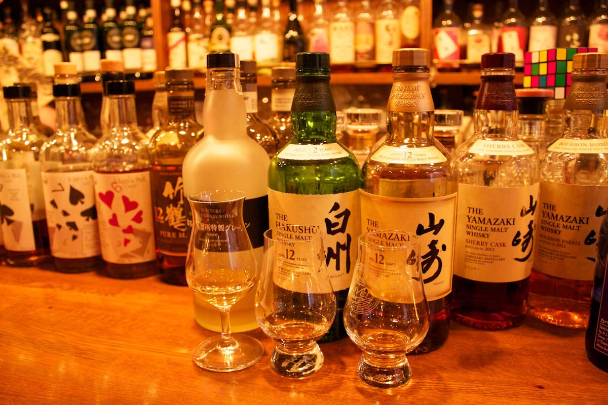 There are many great bars in Tokyo