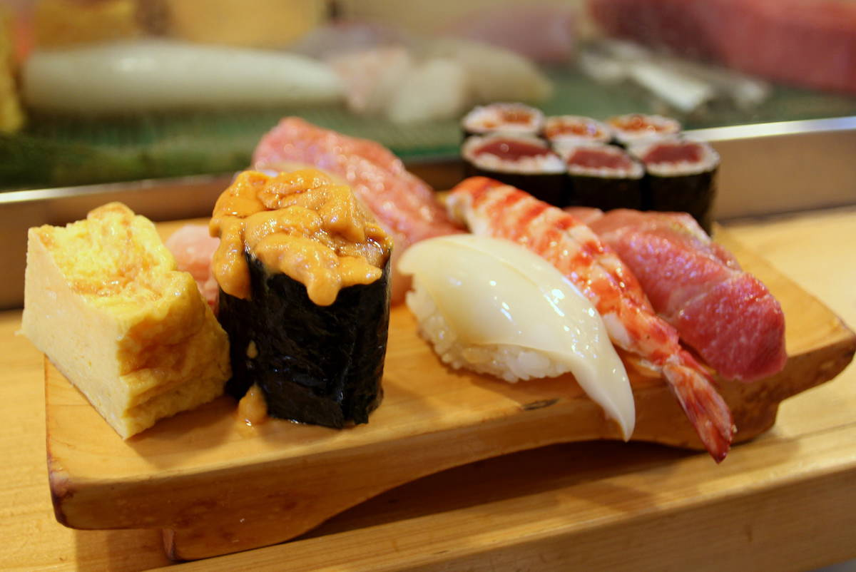 Sushi in Tokyo is the best in the world